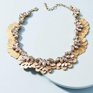 Gilded Garden Collar Necklace